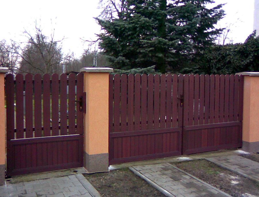 nowoczesne ogrodzenia domów